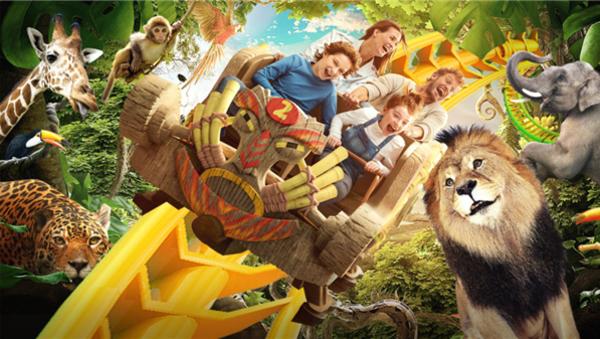 银基动物王国7月开业:颠覆传统动物园!