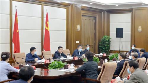 张庆伟:着力完善大统战工作格局 凝聚起振兴发展强大力量