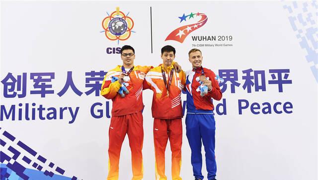 水上救生丨男女200米障碍游泳:中国队包揽冠亚军