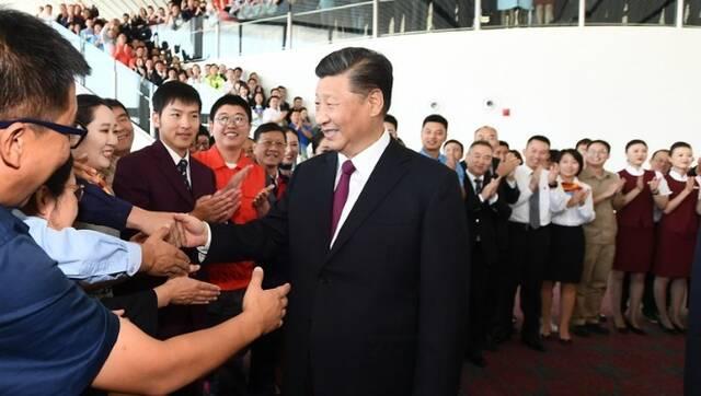 习近平出席北京大兴国际机场投运仪式
