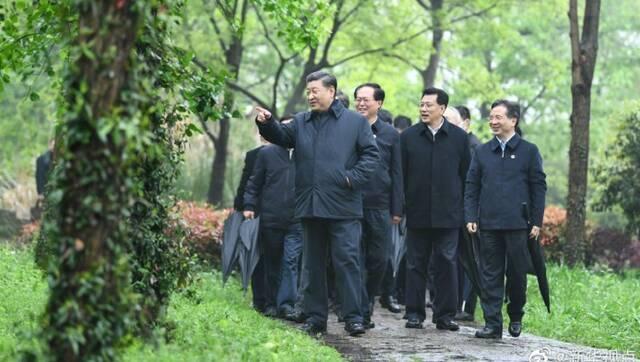 习近平考察杭州