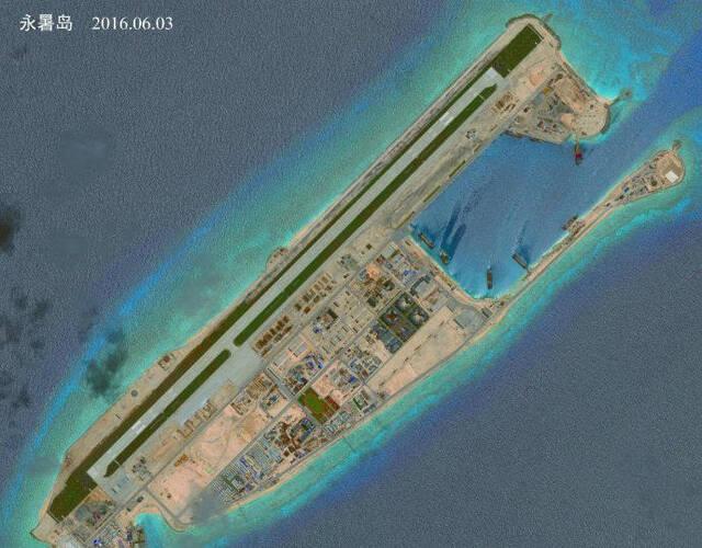 中国南沙岛礁部署近防武器