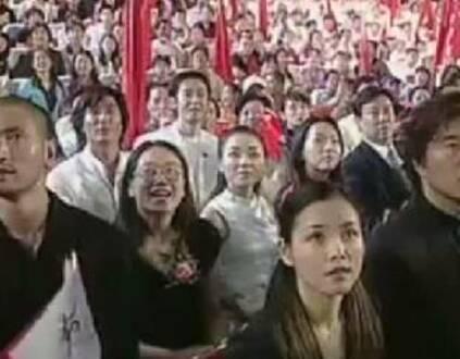 那年今天 整个中国沸腾了(组图)