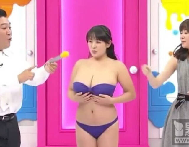 日本女星胸太大想减肥瘦大胸图片