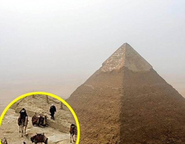 andrej在金字塔顶拍到的照片