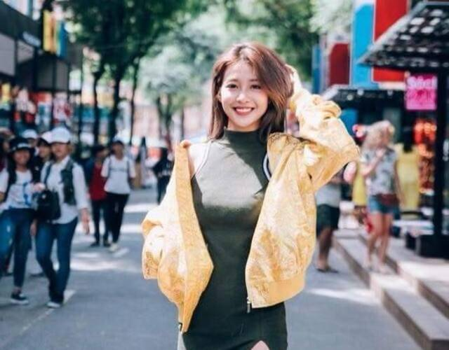 越南拳击美少女街拍