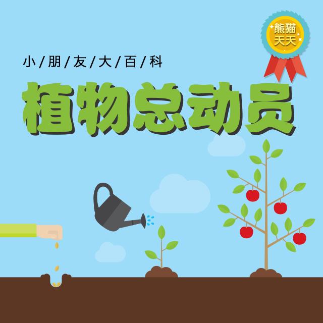 植物总动员-小朋友大百科