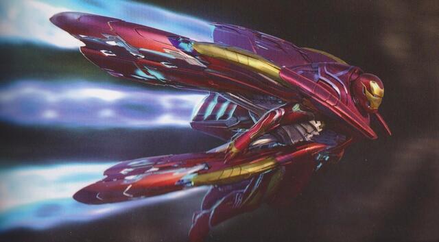 钢铁侠变身高达,《复仇者联盟3》曝新概念图,太炫酷了