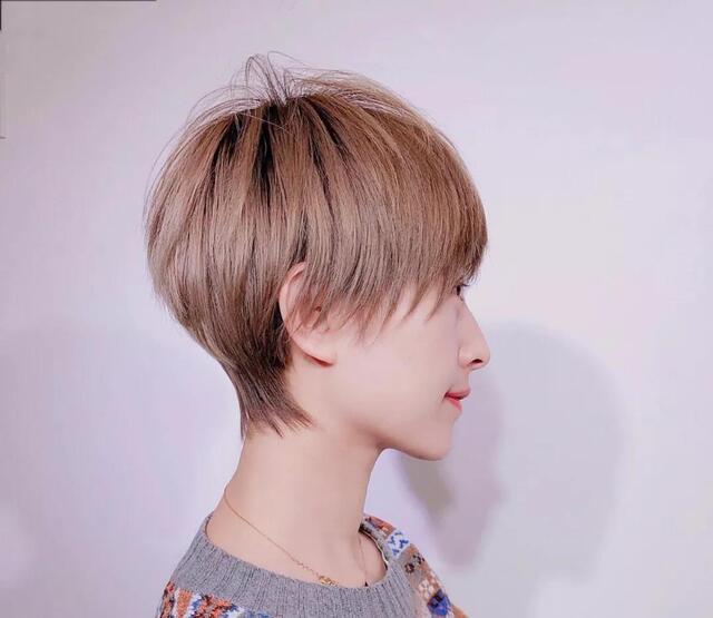 """2018流行""""海清头"""",毛豆豆因为这款短发过上""""媳妇的图片"""
