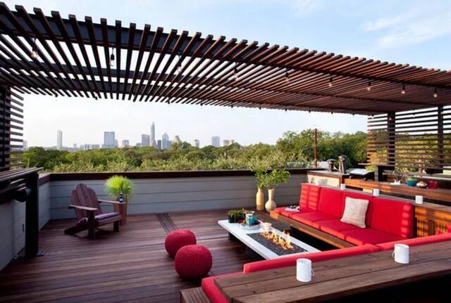买不起别墅,一定要买顶楼,圆你空中花园的梦!图片
