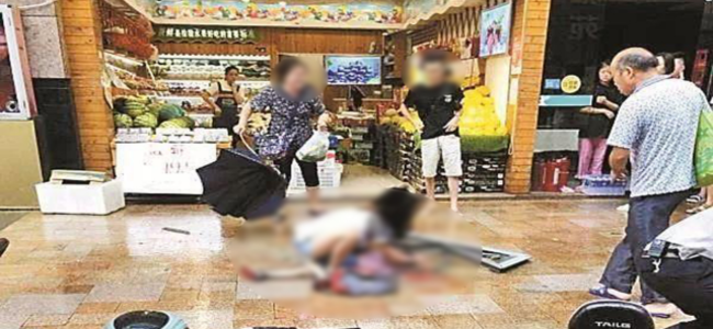 深圳一男童被高坠窗户砸中,抢救无效离世
