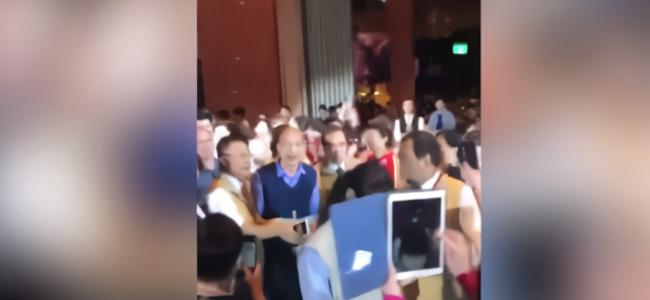 高雄市被淹 韩国瑜不去救灾竟出席餐会?