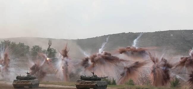 火力全开战味足!直击陆军合成营实弹战术演练