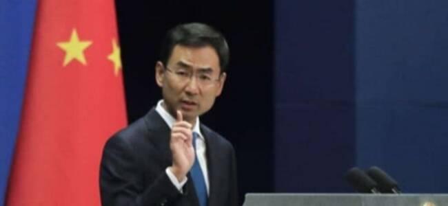 塔利班代表团前往北京和中国特使举行会晤?耿爽当场回应