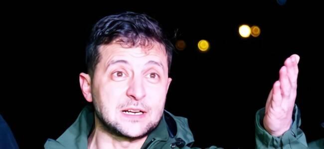 关键时刻 乌克兰总统专机熄火了