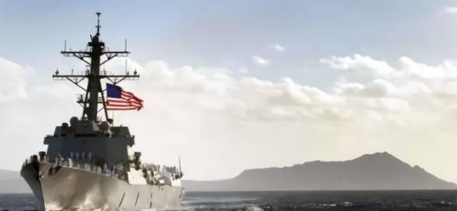 美军舰机敢停靠台湾吗?专家:现在不敢 中长期难料