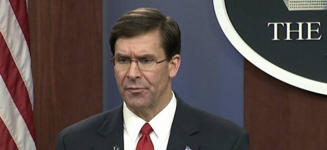 美国防部长:受疫情影响 美韩考虑缩小联合军演规模