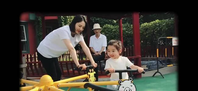 董璇分享vlog为女儿庆生,姥姥姥爷出镜画风温馨