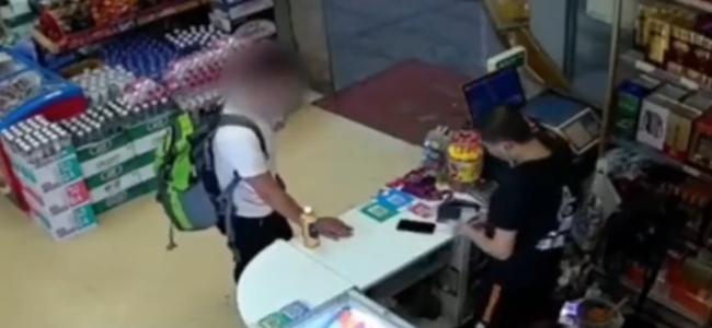 男子超市抢劫20元也不跑:家里事多,想进监狱清静一下