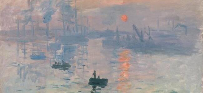 莫奈名作《日出·印象》首次在华展出 上海观众争睹