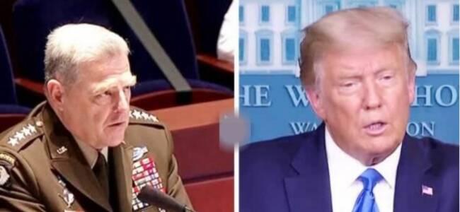 特朗普不承诺接受选举结果 美军方重量级人物发声