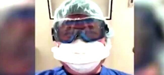 美国医生带哭腔拍新冠患者死前视角:这就是不戴口罩的后果