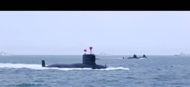 每一帧都震撼!中国海军核潜艇部队高燃混剪