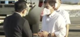 首批中国疫苗运抵马尼拉 菲律宾总统杜特尔特亲自接机