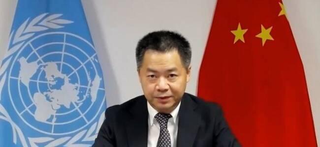 中国驻联合国代表敦促英国停止将人权作为政治工具
