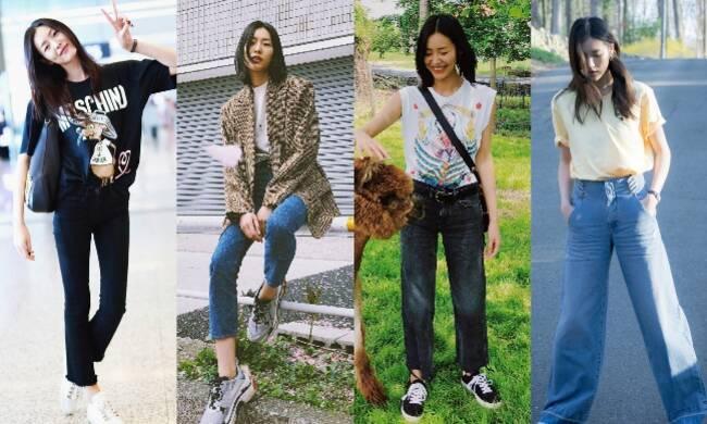 跟着刘雯挑牛仔裤 总不会出错了吧!