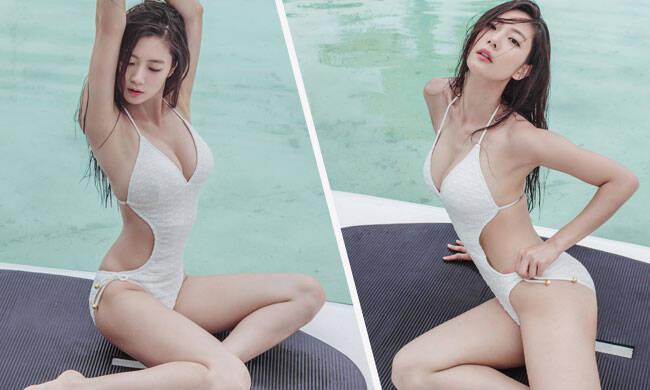 亚洲第一美海滩秀身材