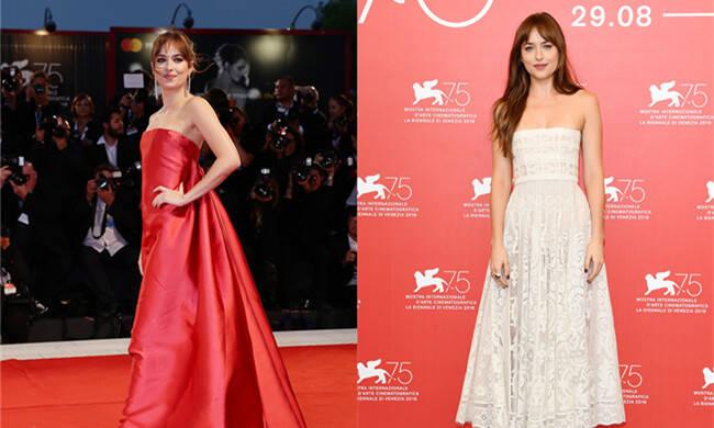 29岁女星走红毯上演尴尬一幕