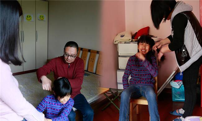 """跟拍自闭症家庭 见证父爱如山"""""""