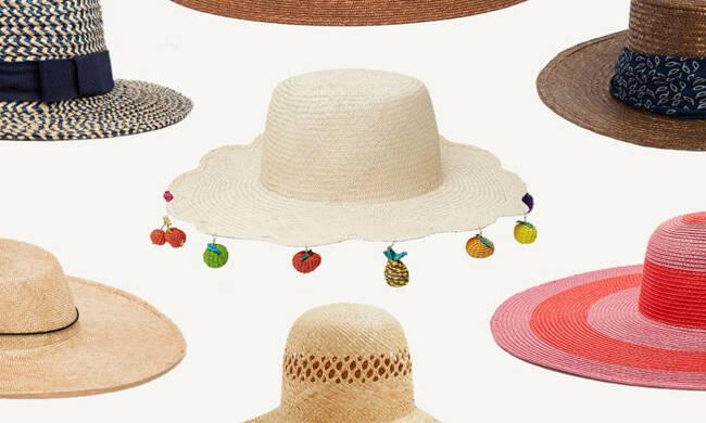 今年夏天流行戴草帽 这15款不来一顶吗?