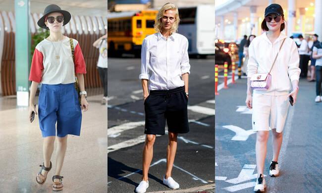 谁说中裤女生穿不好