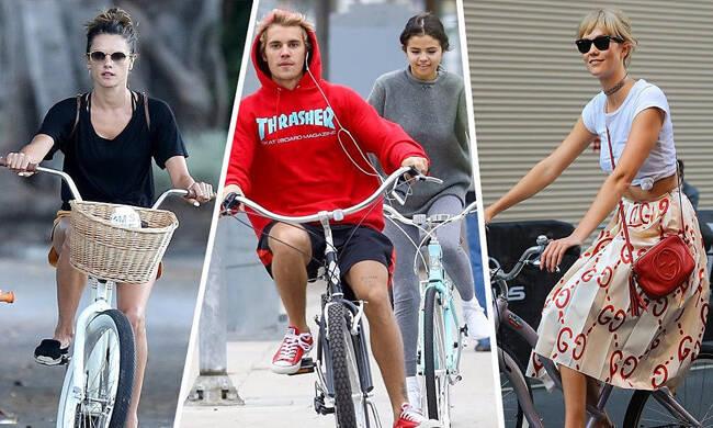 赛琳娜比伯复合原来都是自行车的功劳?