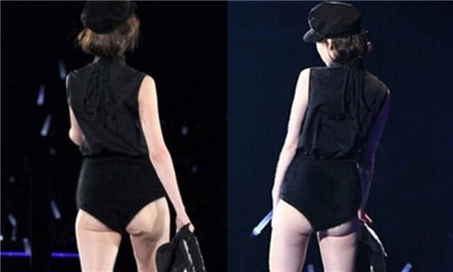 时尚教主走秀被嘲臀部下垂