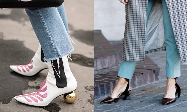 """时髦的鞋子长得都很""""不一般""""!"""