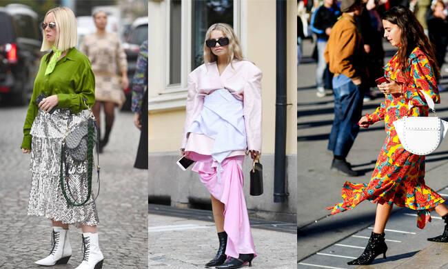 LACE-UP绑带靴 VS 猫跟靴,你PICK哪个?