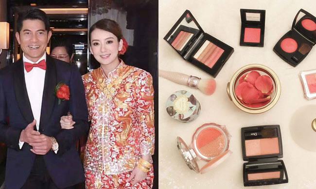 天王嫂的化妆品每一样都是经典