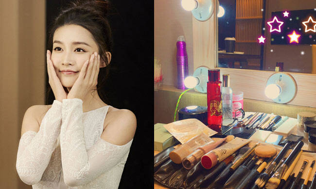 就让我美成李沁 再拥有她的化妆台吧