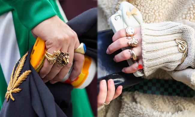 今年夏天可以不炫富 但戒指一定要成堆戴!