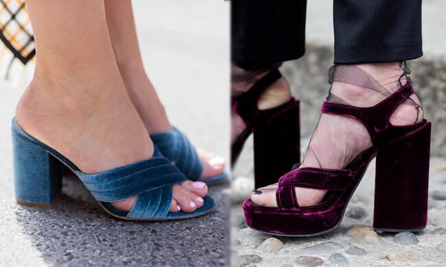 早秋天鹅绒凉鞋帮你找到最合适的温度!