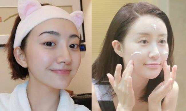 景甜舒畅因卸妆洗脸狂圈粉 她们的美肌是如何洗出的?