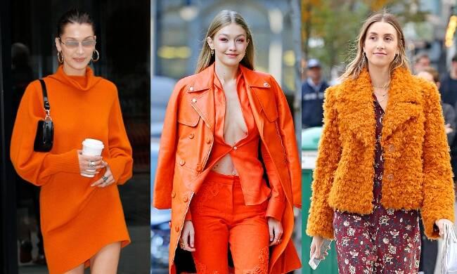 能让Gigi Bella抢着穿都不腻的亮橘色到底有多火?