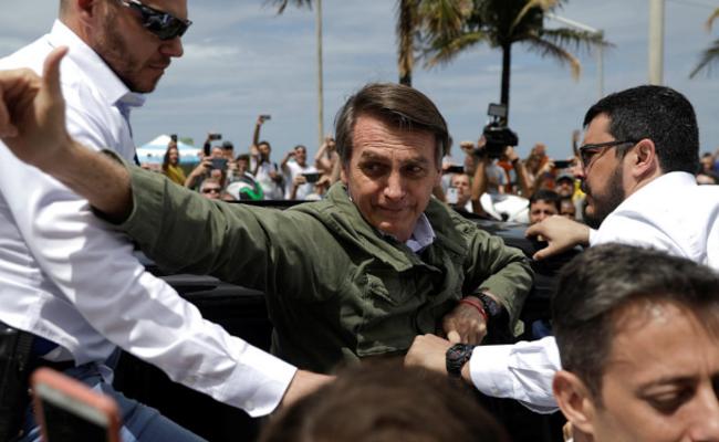 右翼候选人获胜巴西大选