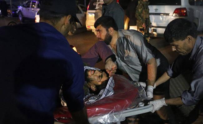 阿富汗首都遭自杀式爆炸袭击