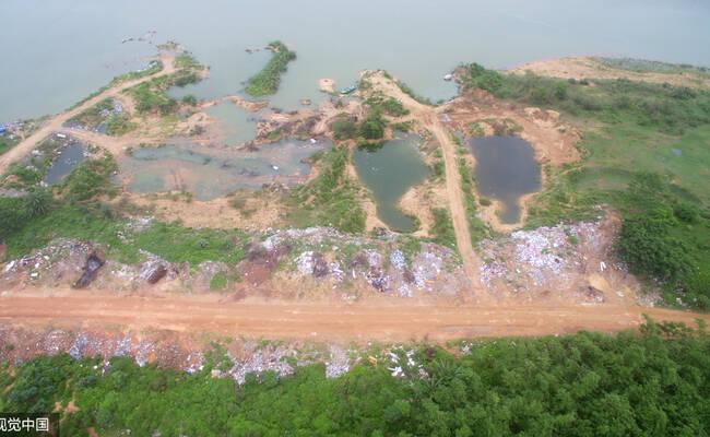 海南:千吨建筑垃圾入侵万泉河
