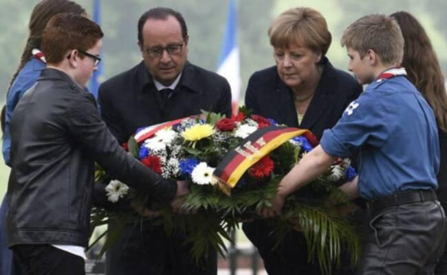 德法两国共同纪念凡尔登战役100周年