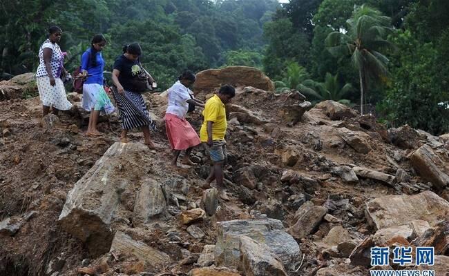 斯里兰卡洪水和山体滑坡已致146人死